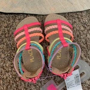 Infant Girls sandals, size 4